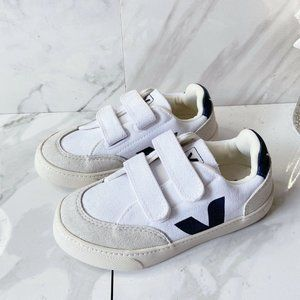 Veja Kids V-10 Sneaker 2 Strap White Sneakers US 1